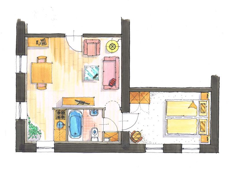 Smidsberg Luxe appartement