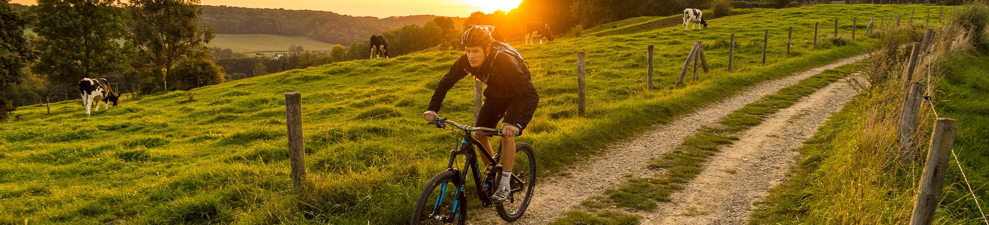 mountainbiken in Zuid Limburg